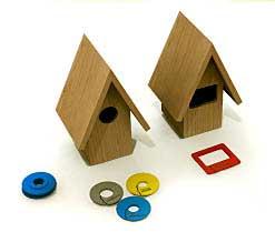 nichoir oiseaux design