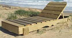 Actus colos mars avril 2010 esprit cabane idees - Plan de chaise longue en bois ...