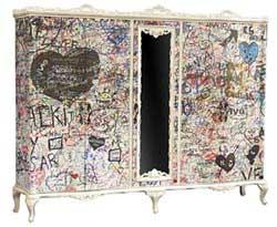 meuble graffiti