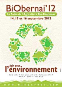 Ev nements bio septembre 2012 esprit cabane idees - Entree gratuite salon de l agriculture ...
