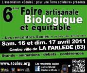 Foire bio de La Farlède - 2011