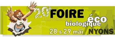 Foire éco-biologique Naturellement ! - Nyons 2011