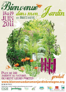 Bienvenue dans mon jardin en Bretagne - 2011