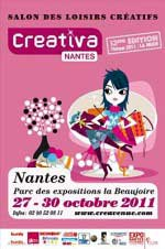 Salon Creativa Nantes 2011
