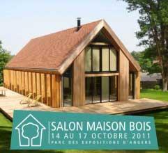 salon maison bois Angers 2011