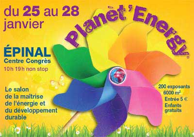 Salon Planet Energy 2013