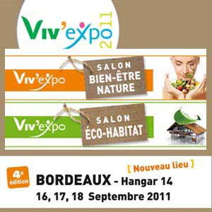 Salons bio septembre 2011 esprit cabane idees creatives for Salon habitat bordeaux