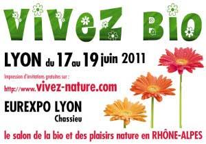 Salon Vivez bio - Lyon 2011