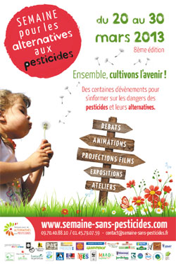 semaine alternatives pesticides 2013
