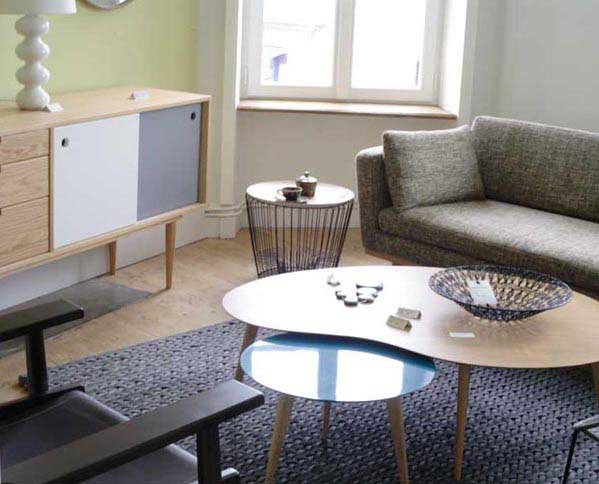 Style scandinave mobilier for Ameublement scandinave