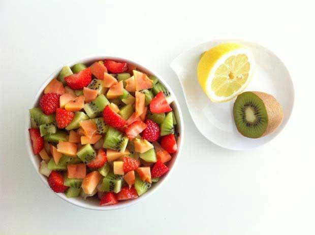 recette miam aux fruits