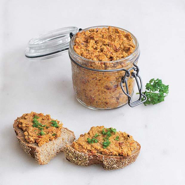 recette pâté végètarien à tartiner