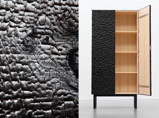 la technique shou sugi ban ou bois br l esprit cabane idees creatives et ecologiques. Black Bedroom Furniture Sets. Home Design Ideas