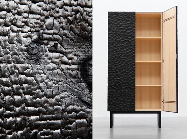 la technique shou sugi ban ou bois br l esprit cabane. Black Bedroom Furniture Sets. Home Design Ideas
