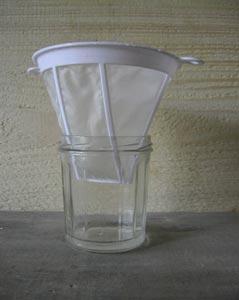 peinture lait filtre
