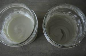 peinture lait mélanges