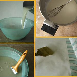 recette colle papiers peints