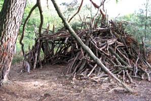Cabanes des bois, Esprit Cabane, idees creatives et ecologiques
