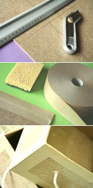 fabrication tiroirs carton