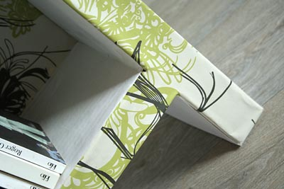 pieds carton