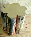 pouf carton