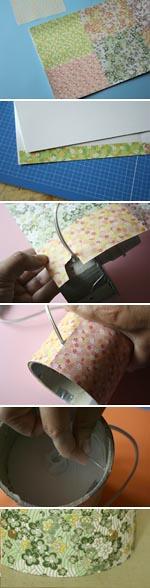 Lampe en papier japonais esprit cabane idees creatives et ecologiques Fabrication abat jour
