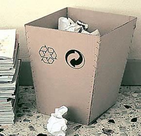 corbeille carton