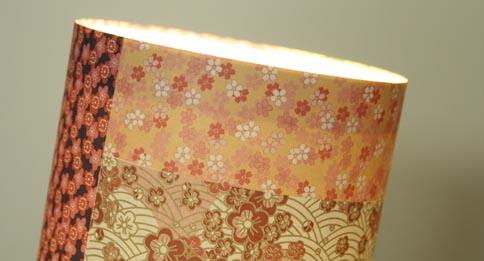 lampe en papier japonais esprit cabane idees creatives. Black Bedroom Furniture Sets. Home Design Ideas