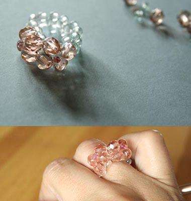 faire bague en perles