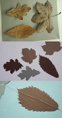 montage guirlande papier
