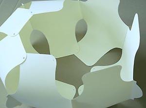 suspension 70 en papier esprit cabane idees creatives. Black Bedroom Furniture Sets. Home Design Ideas