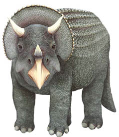 sticker tricératops