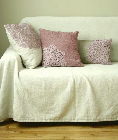 housses de coussins esprit cabane idees creatives et ecologiques. Black Bedroom Furniture Sets. Home Design Ideas