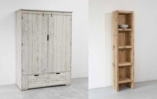 Armoire Blanchie