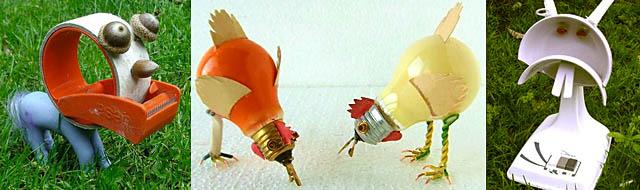 poules ampoules