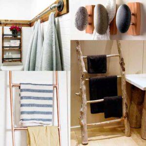 DIY : 4 tutos de sèche-serviettes beaux et chics