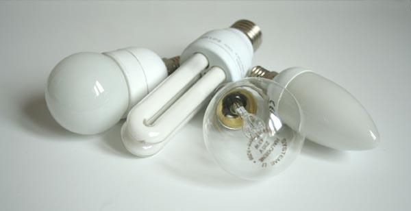 Ampoules à économie d'énergie