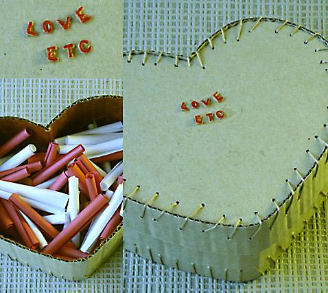 Boîte coeur Saint-Valentin