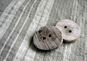 Faire des boutons de bois