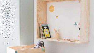 12 projets minimalistes <br>pour la chambre des kids
