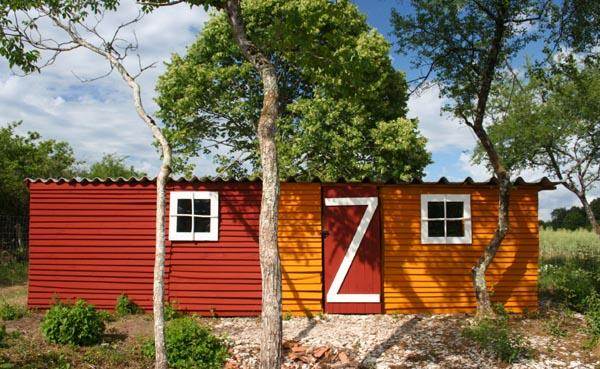 peinture su doise les cabanes de patricia et de bruno esprit cabane idees creatives et. Black Bedroom Furniture Sets. Home Design Ideas