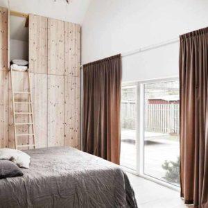 Inspiration : Une maison naturelle en Suède