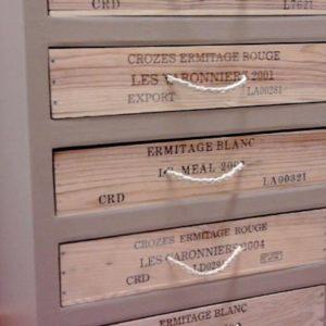 Chiffonnier en carton et en bois avec CréaZoé