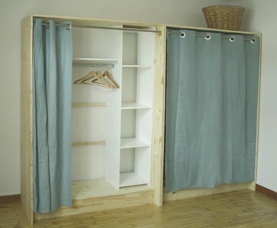 DIY : Dressing bois et lin - Esprit Cabane