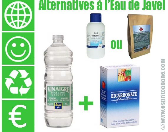 Alternatives à l'Eau de Javel