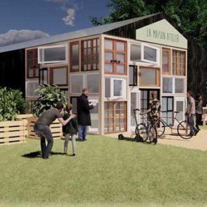 Le projet : Un éco-lieu urbain