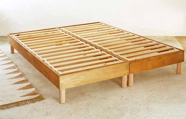 Bricolage bois : Je fabrique moi-même un sommier de lit !