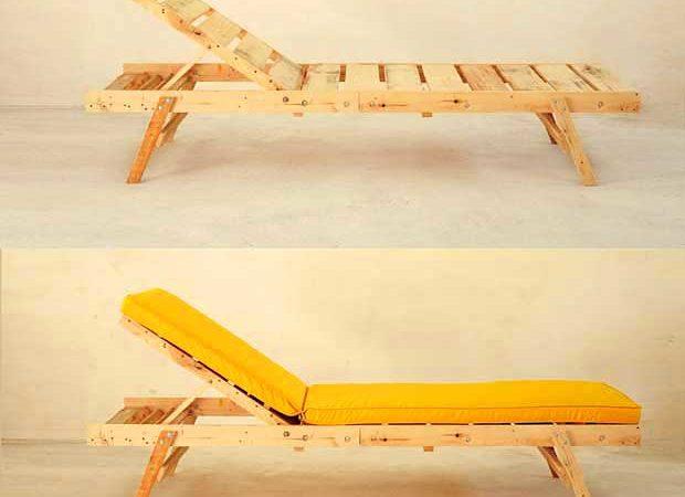 DIY : Fabriquer un transat en bois
