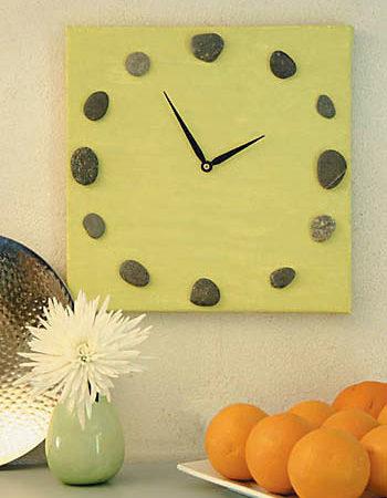 Horloge déco nature
