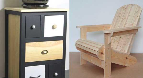 Bricolage : un atelier en ligne pour fabriquer ses meubles
